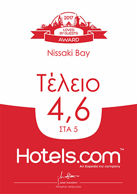 Hotels.com Loved by Guest Award 2017