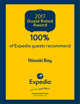 Expedia Guest Rated Award 2017